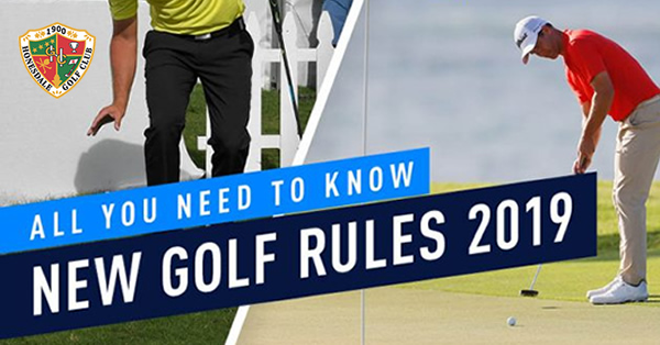 New Golf Rules 2019: All You Need To Know